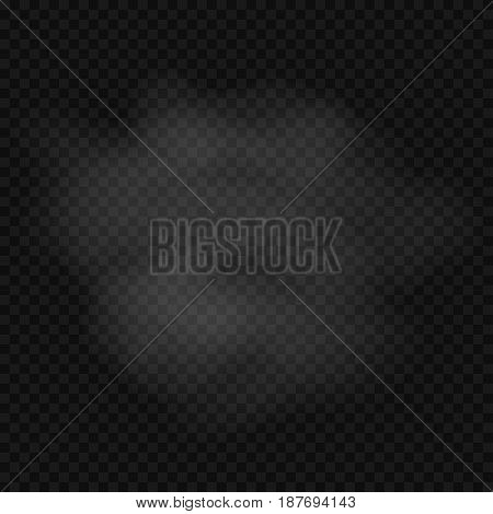 White Transparent Clouds, toxic gas or smoke background