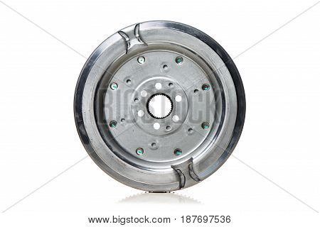 Dual-Mass Flywheel back view on white background