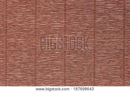 Texture of a crepe paper with vertical line