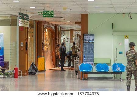 Bomb Attack At An Army Hospital (phramongkutklao)