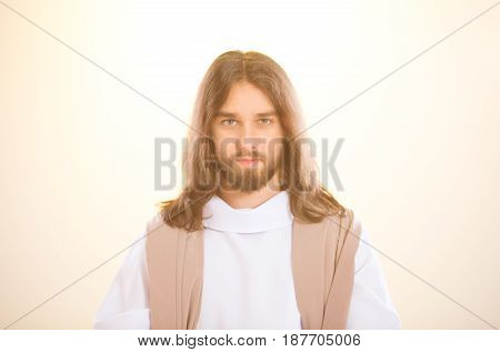 Jesus Standing In The Light