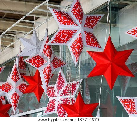 Christmas Stars For Decorations At House