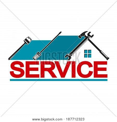 Service with symbol tool. Repair and maintenance of the house.