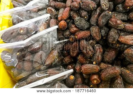 Dates On Sale At Bazaar For Muslim Iftar Break Fast