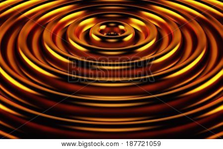 Abstract 3d gold geometric background. Gold texture with shadow. 3D rendering