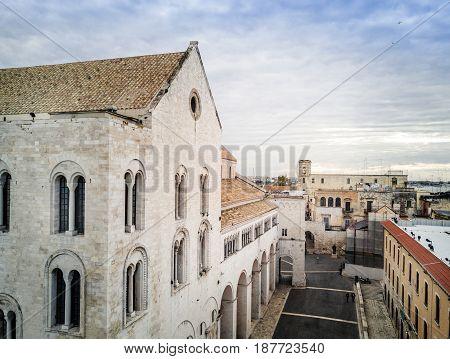 Basilica San Nicola In Bari, Puglia, Italy