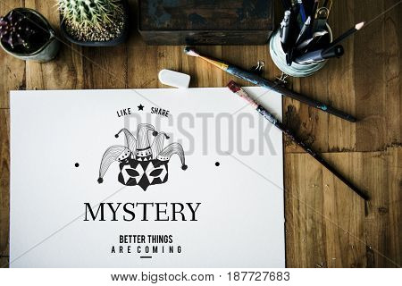 Masquerade Incognito Mystery Anonymous Disguise Hidden Mask Graphic