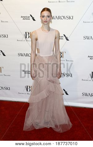 NEW YORK-MAY 22: Catherine Hurlin attends the American Ballet Theatre 2017 Spring Gala at David H. Koch Theater at Lincoln Center on May 22, 2017 in New York City.