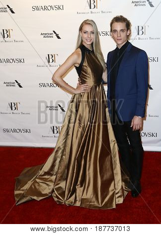 NEW YORK-MAY 22: Emily Hayes (L) and Jonathan Klein attends the American Ballet Theatre 2017 Spring Gala at David H. Koch Theater at Lincoln Center on May 22, 2017 in New York City.