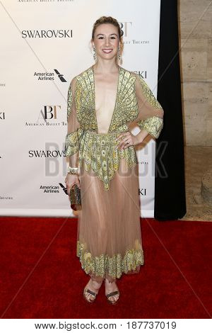 NEW YORK-MAY 22: Isabella Boylston attends the American Ballet Theatre 2017 Spring Gala at David H. Koch Theater at Lincoln Center on May 22, 2017 in New York City.