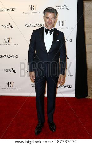NEW YORK-MAY 22: Eric Rutherford attends the American Ballet Theatre 2017 Spring Gala at David H. Koch Theater at Lincoln Center on May 22, 2017 in New York City.
