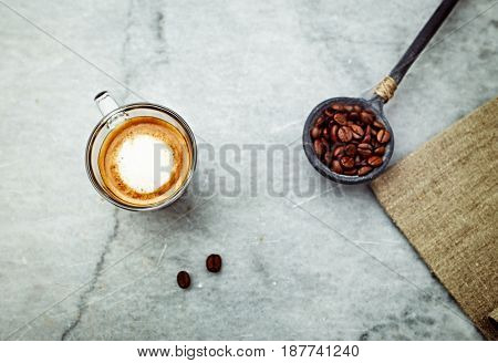 Cup of Espresso Macchiato