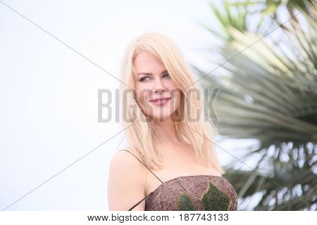 Nicole Kidman attends the 'The Killing Of A Sacred Deer' photocall during the 70th annual Cannes Film Festival at Palais des Festivals on May 22, 2017 in Cannes, France.