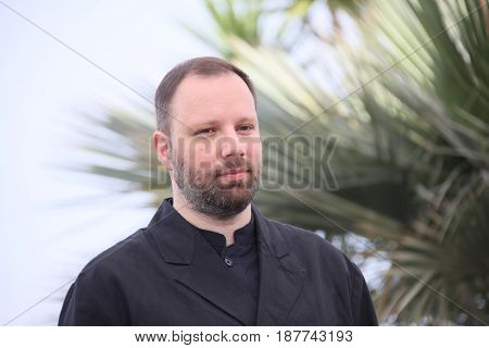Yorgos Lanthimos  attend the 'The Killing Of A Sacred Deer' photocall during the 70th annual Cannes Film Festival at Palais des Festivals on May 22, 2017 in Cannes, France.