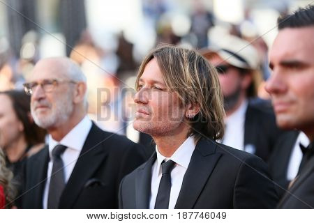 Keith Urban attends the 'The Killing Of A Sacred Deer' screening during the 70th Cannes Film Festival at Palais des Festivals on May 22, 2017 in Cannes, France.