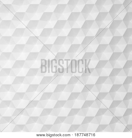 Abstract hexagonal pattern. 3d background for design