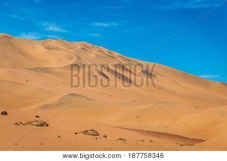 Sand Dunes In The Namib Desert.sand Dunes In The Namib Desert.