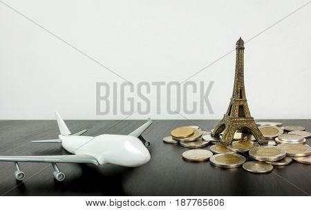 Saving money for Air Ticket to Paris france