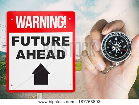 Holding Compass for direct to future succession ahead
