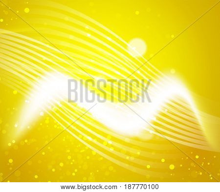 Shiny wave, magic light efffect abstract background