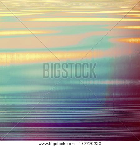 Highly detailed grunge background or scratched vintage texture. With different color patterns: yellow (beige); brown; blue; red (orange); purple (violet); pink