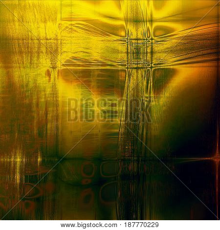 Art grunge background, vintage style textured frame. With different color patterns: yellow (beige); brown; green; gray; red (orange)