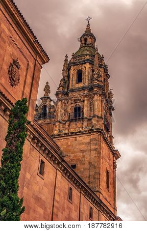 Salamanca, Spain: The New Cathedral, Cathedral Nueva at the sunset