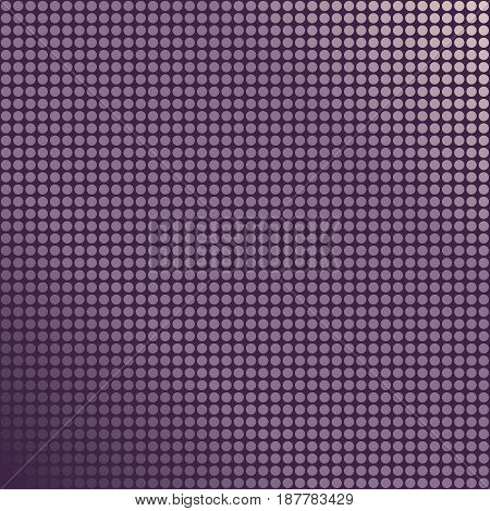 Background with halftone dots and violet gradient
