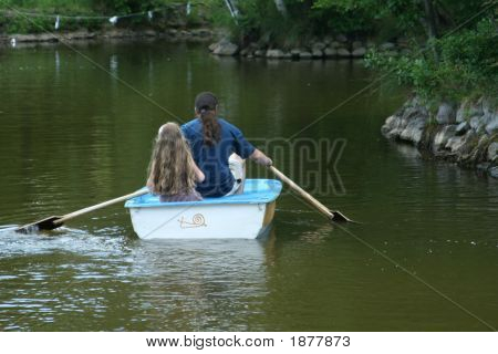Boating Family