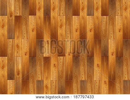 Parquet From Wooden Pattern. Light Wooden Parquet On The Floor. Fragment of parquet floor