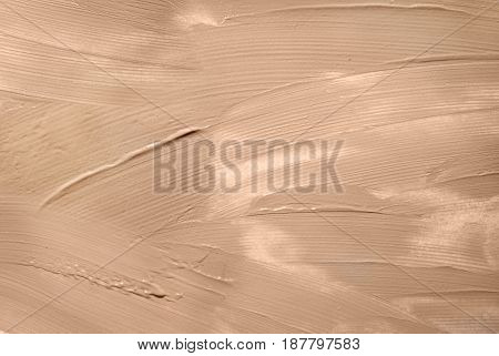 Textured brown putty or paint background for you design