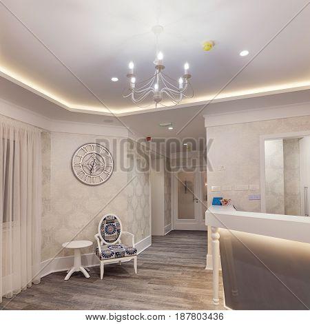 Hotel Reception Interior