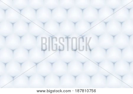 Hexagon Glossy White Color Cell Pattern Abstract Background