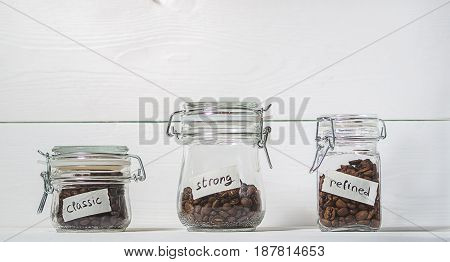 Different Varieties Of Coffee