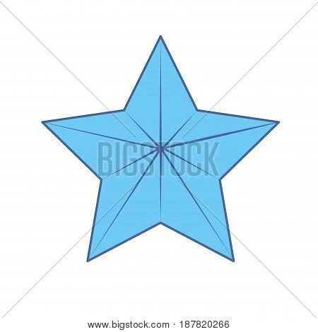 cute moder and big star design, vector illustration