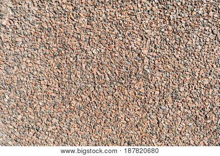 Gravel Granite Chippings Red Closeup Texture Design