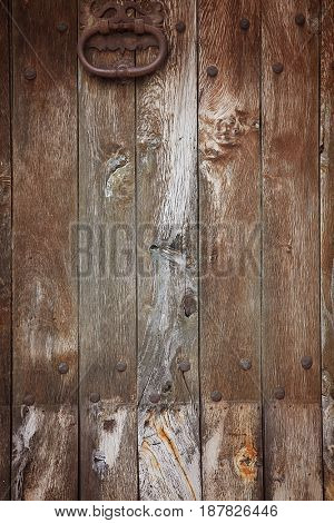 vintage wood background door