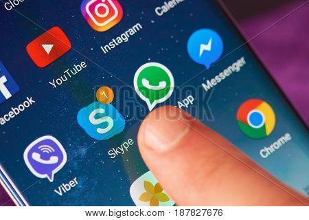 Start Skype Application