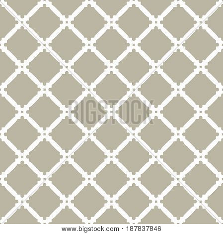 Seamless vector ornament in arabian style. Geometric abstract background. Pattern for wallpapers and backgrounds