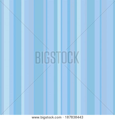 Abstract vector wallpaper with blue vertical strips. Seamless colored background. Geometric pattern