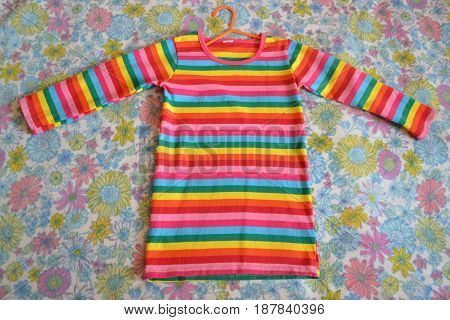 dress for girl fashionable vivid beautiful tunic
