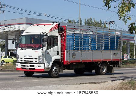 Private Isuzu Cargo Truck.