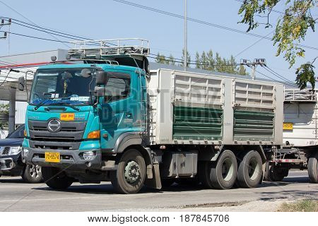Hino Cargo Truck Of Thep Pradit Transport