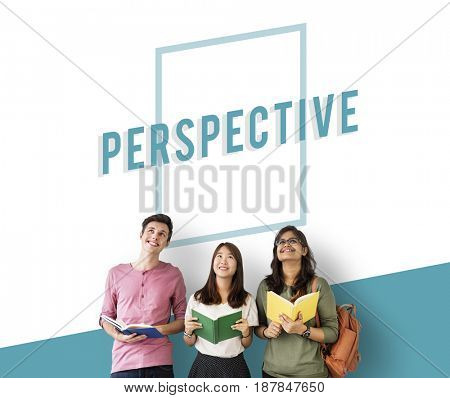 Perspective Overview  Objective Mindset Icon