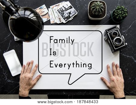 Family is Everything Group Love Relationship