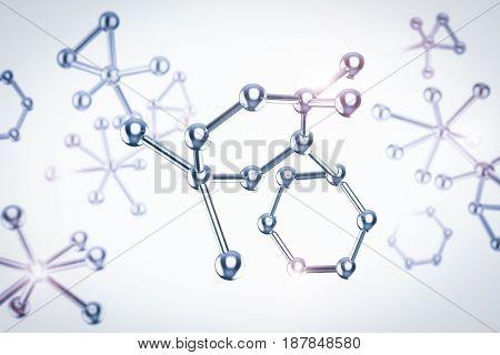 Metal Molecule Structure