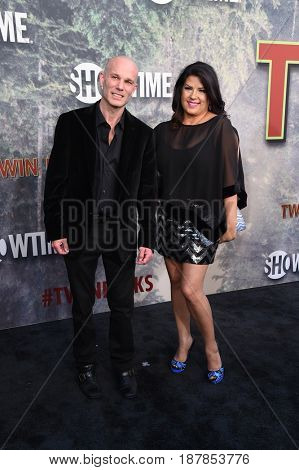LOS ANGELES - MAY 19:  James Marshall and Rebekah Del Rio arrives for the premiere of