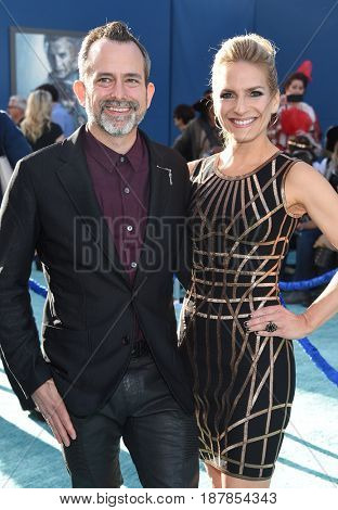 LOS ANGELES - MAY 18:  Geoff Zanelli and Jen Jardine arrives for