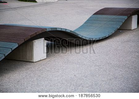 ramp for a bike, park, trail outdoor