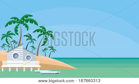 Bungalow On The Shore.eps